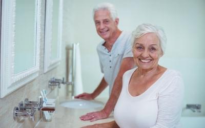 Salle de bain pour seniors et personnes à mobilité réduite